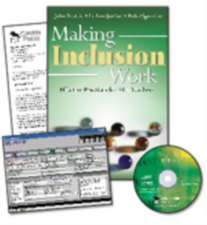 Making Inclusion Work and IEP Pro CD-Rom Value-Pack