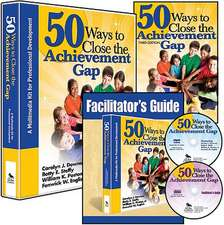 50 Ways to Close the Achievement Gap (Multimedia Kit): A Multimedia Kit for Professional Development