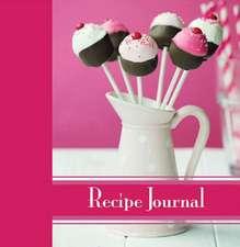 Cake Pops Recipe Journal
