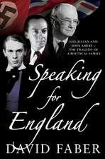 Speaking for England
