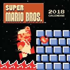 Super Mario Bros.(TM) 2018 Wall Calendar (Retro Art)