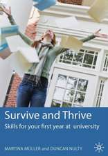 Survive and Thrive: Skills for your first year at university