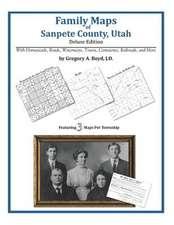 Family Maps of Sanpete County, Utah