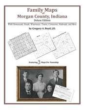 Family Maps of Morgan County, Indiana