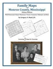 Family Maps of Monroe County, Mississippi