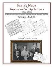 Family Maps of Kosciusko County, Indiana