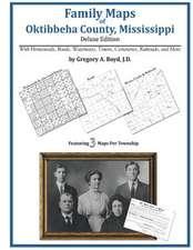 Family Maps of Oktibbeha County, Mississippi