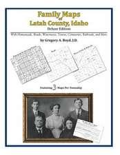 Family Maps of Latah County, Idaho