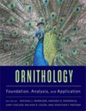 Ornithology – Foundation, Analysis, and Application