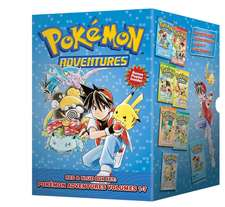 Pokémon Adventures Red & Blue Box Set: Set includes Vol. 1-7