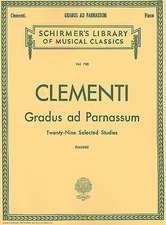 Gradus Ad Parnassum: Schirmer Library of Classics Volume 780 Piano Solo
