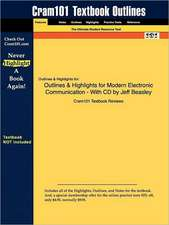 Studyguide for Modern Electronic Communication by Beasley, Jeff, ISBN 9780132251136