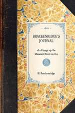 Brackenridge's Journal:  Reprint of the 2D Edition (Baltimore, 1816)