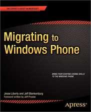 Migrating to Windows Phone