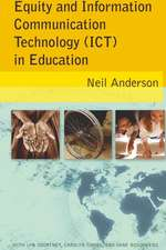 Equity and Information Communication Technology (Ict) in Education:  Discourse and Identity in Education
