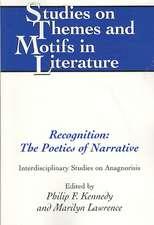Recognition:  Interdisciplinary Studies on Anagnorisis