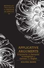 Applicative Arguments
