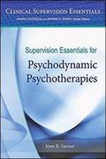 Supervision Essentials for Psychodynamic Psychotherapies