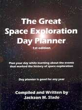The Great Space Exploration Day Planner