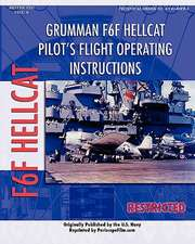 Grumman F6F Hellcat Pilot's Flight Operating Instructions