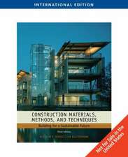 Construction Materials, Methods and Techniques, International Edition