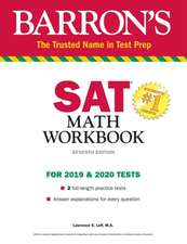 Barron's SAT Math Workbook