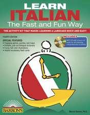 Learn Italian the Fast and Fun Way [With Italian-English and MP3]:  Seafaring Skills and Pirate Tales
