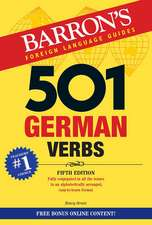 501 German Verbs [With CDROM]