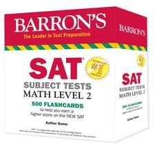 Barron's SAT Subject Test Math Level 2 Flashcards