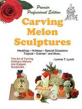 Carving Melon Sculptures: Weddings, Holidays, Tropical themes, Special Occasions