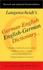 Langenscheidt's German-English Dictionary
