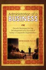 The Administration of a Business