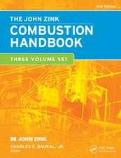The John Zink Hamworthy Combustion Handbook, Second Edition:  Three-Volume Set