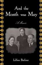 And the Month Was May