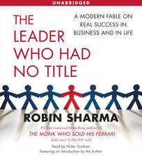 The Leader Who Had No Title: Audiobook