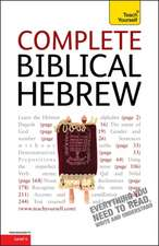 Complete Biblical Hebrew