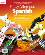 Friday Afternoon Spanish A-level