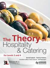 Foskett, D: The Theory of Hospitality and Catering