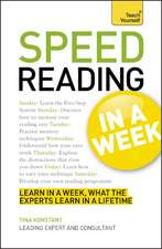 Teach Yourself Speed Reading in a Week: Teach Yourself