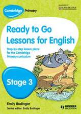 Cambridge Primary Ready to Go Lessons for English Stage 3