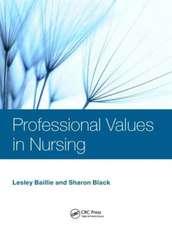 Professional Values in Nursing