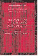 Philosophy of the Yi: Unity and Dialectics