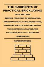The Rudiments Of Practical Bricklaying - In Six Sections - General Principles Of Bricklaying, Arch Drawing, Cutting, And Setting, Different Kinds Of Pointing, Paving, Tiling, Materials, Slating, And Plastering, Practical Geometry Mensuration