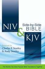 NIV & KJV Side-by-side Bible