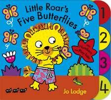 Little Roar's Five Butterflies Board Book
