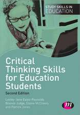 Critical Thinking Skills for Education Students