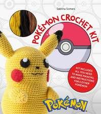 Pokémon Crochet Kit: Kit Includes Everything You Need to Make Pikachu and Instructions for 5 Other Pokémon