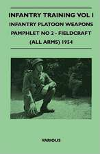 Infantry Training Vol I - Infantry Platoon Weapons - Pamphlet No 2 - Fieldcraft (All Arms) 1954