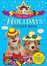 Holidays Sticker Book: Star Paws