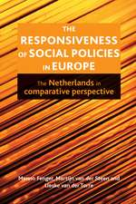 The Responsiveness of Social Policies in Europe: The Netherlands in Comparative Perspective